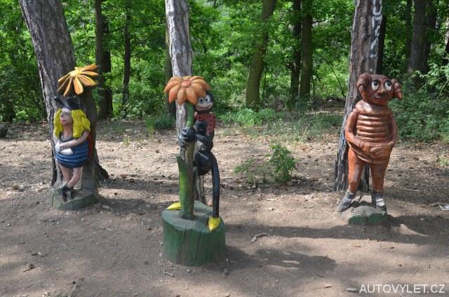 Ferda Mravenec, Brouk pytlík, beruška - Pohádkový les Bílina
