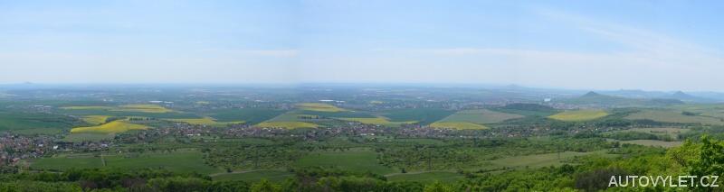 Laffitova vyhlídka - panorama
