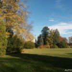 Lázně Vráž - anglický park