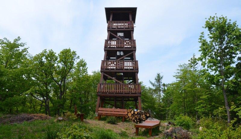 Rozhledna Lucemburkův kopec – Malečov