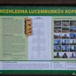 Rozhledna Lucemburkův kopec v Malečově
