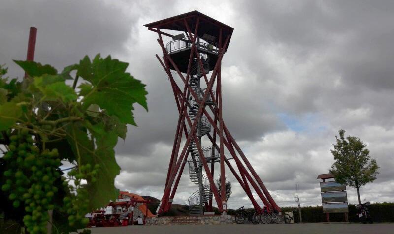 Rozhledna Slunečná - Velké Pavlovice