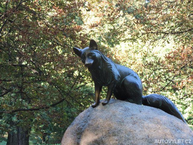 Socha lišky bystroušky - Hukvaldy