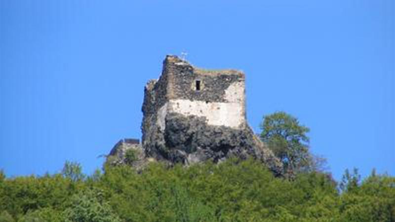 Starý Berštejn - zřícenina hradu