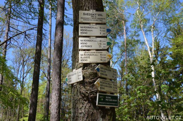 Švédský val - Cinibulkova stezka