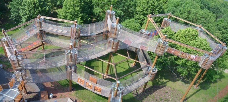 3D bludiště Funpark Most