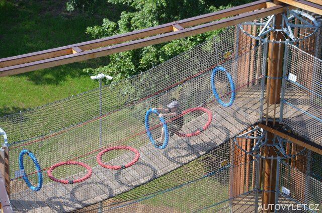 3D bludiště Funpark v Mostě