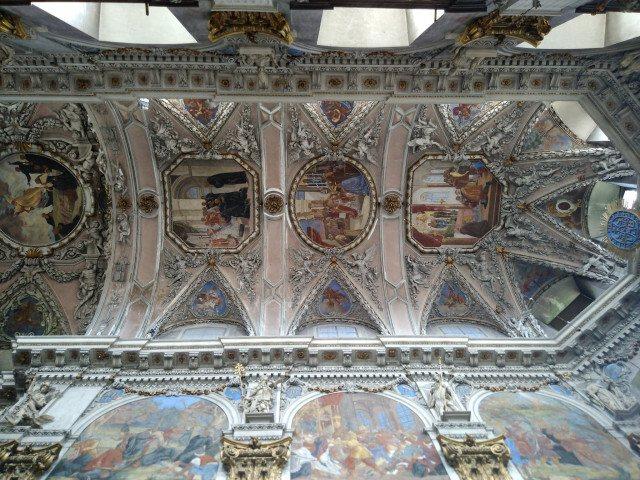 Broumovský klášter - výzdoba