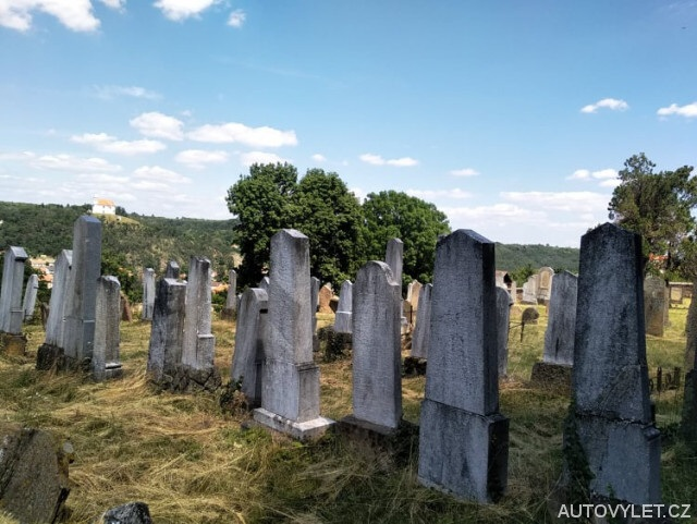 Dolní Kounice - židovský hřbitov