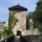 Hrad Lukov - vstupní brána