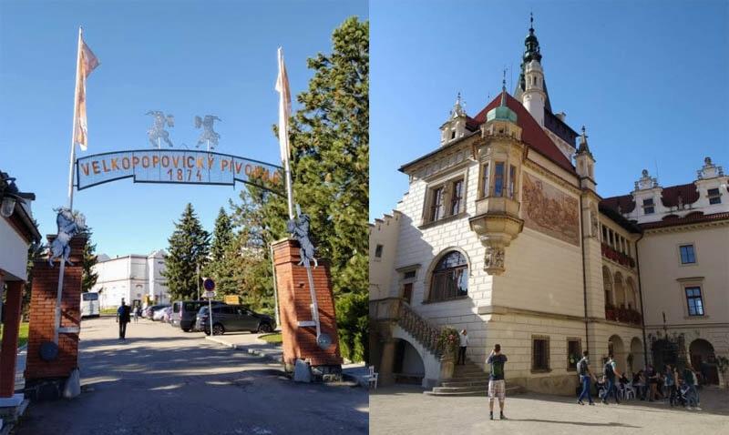 Velké Popovice a Průhonice