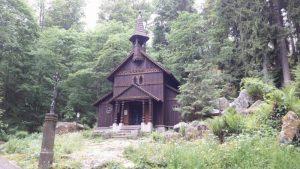 Stožecká kaple - poutní místo u Volar