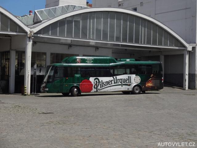 Autobus - pivovar Plzeň