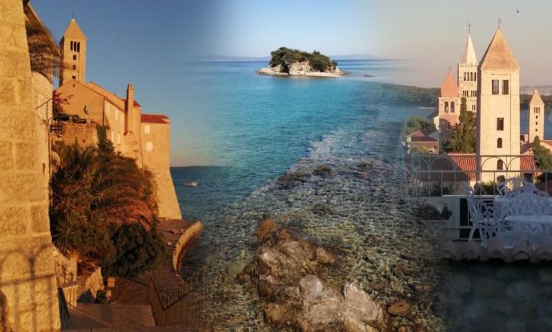 Banjol - ostrov Rab - Chorvatsko