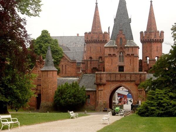 Červený zámek - Hradec nad Moravicí