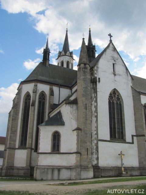 Cisterciánský klášter - Vyšší Brod