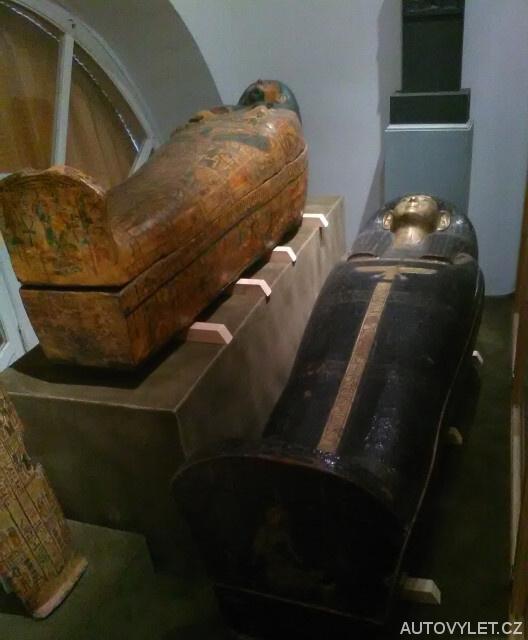Egyptské mumie - Zámek Kynžvart