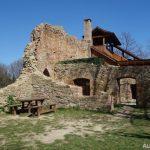 Janův hrad - dřevěná konstrukce