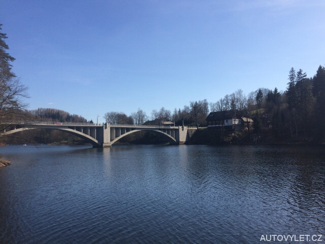 Přehrada Pastviny - most