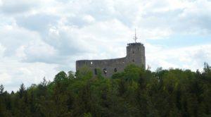 Hrad Radyně - zřícenina