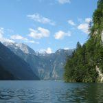 Jezero Königssee v Rakousku