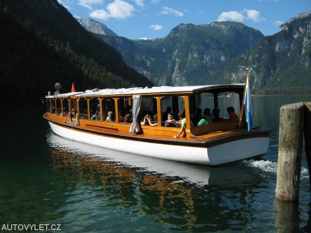 Jezero Königssee - výlet lodí