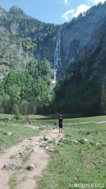 Vodopád Rothbachfall - Rakousko