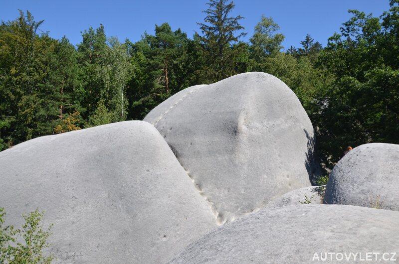 Bílé kameny Jitrava