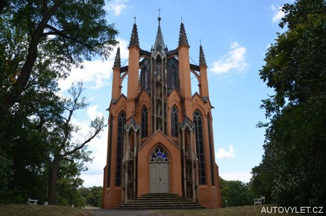 Novogotický templ - Krásný Dvůr