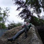 Oscar Wilde - socha v Dublinu