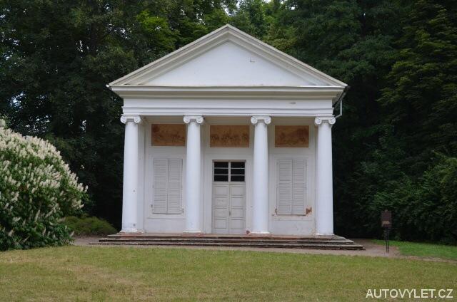 Panův templ - Krásný Dvůr