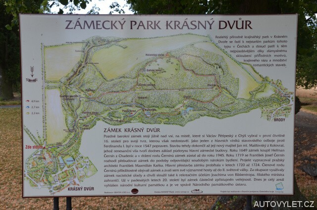 Zámecký park - Krásný Dvůr