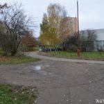 Parkování u vyhlídky Fr. Málka v Ústí