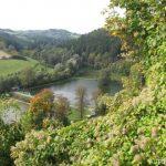 Pohled z hradu Brumov
