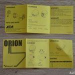 Světla Orion Moon - návod