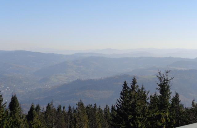 Velká Čantoryje - nejvyšší vrchol Slezských Beskyd