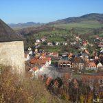 Věž hradu Brumov