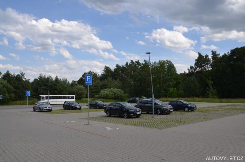 Parkoviště Vrchbělá