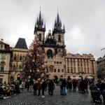 Staroměstské náměstí v Praze ve dne