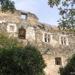 Zřícenina hradu Nový Hrádek u Lukova