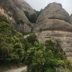 Cesta ke klášteru Montserrat