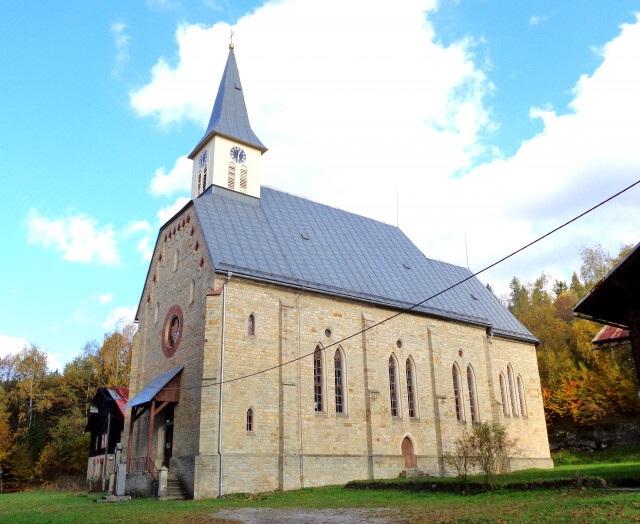 Ostravice - evangelický kostel