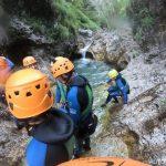 Canyoning Sušec Slovinsko