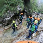 Canyoning Sušec Slovinsko 2