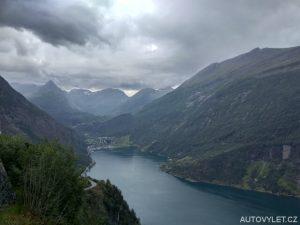 Geirangerfjord Norsko