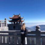 Pohled z nejvyšší hory Vietnamu