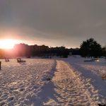 Zimní romantika v Českých Budějovicích
