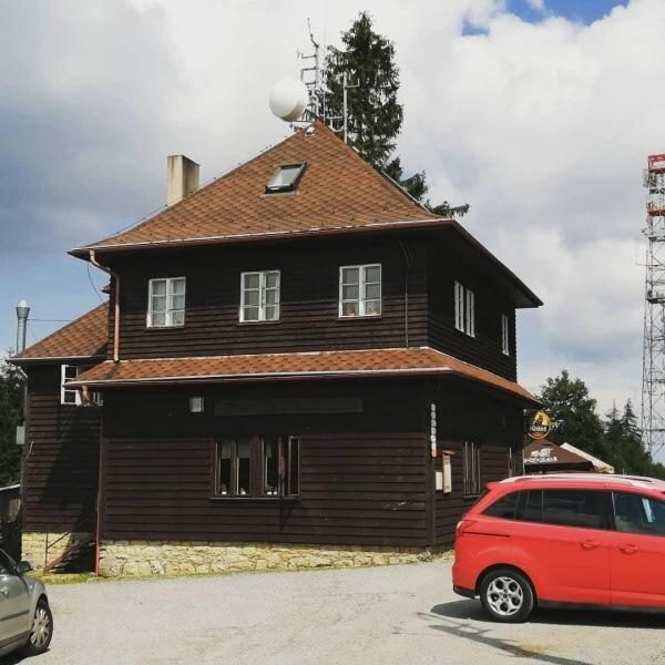 Chata Maxe Švabinského na Kozlovském kopci