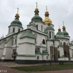 Chrám svaté Sofie - Kyjev Ukrajina