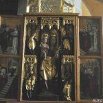 Gotický oltář v bazilice svatého Egidia v Bardejově